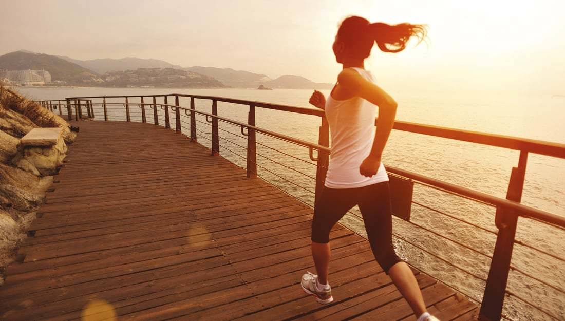 Top tips to fitness - Running