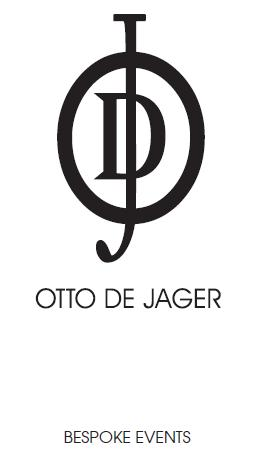Otto De Jager logo with bespoke events