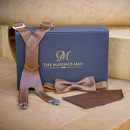 The Maximus Man leather gift set