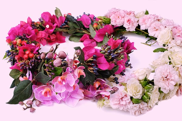 Colourful Flower Crowns