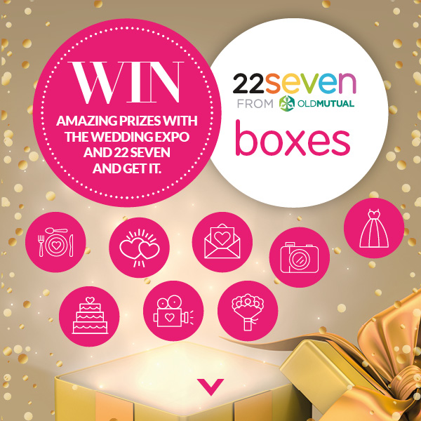 The Wedding Expo - Old Mutual - Get It - 22Seven Boxes Competition