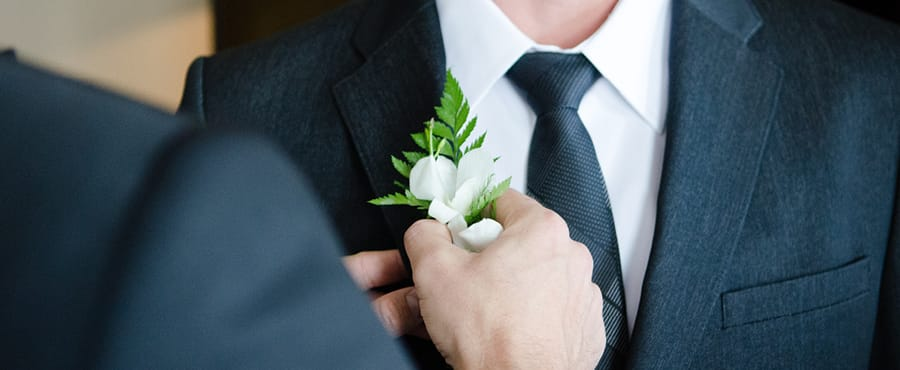 Top 10 Wedding tasks - Grooming